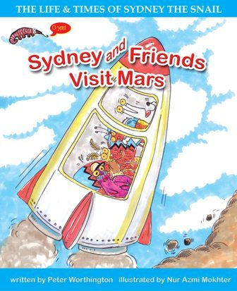 PETER WORTHINGTON, SYDNEY AND FRIENDS VISIT MARS, EARLY READER