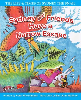 PETER WORTHINGTON, SYDNEY AND FRIENDS HAVE A NARROW ESCAPE, EARLY READER