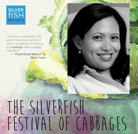 Heidi Shamsuddin at the Silverfish Festival of Cabbages