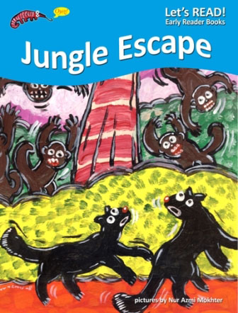 PETER WORTHINGTON, JUNGLE ESCAPE, EARLY READER