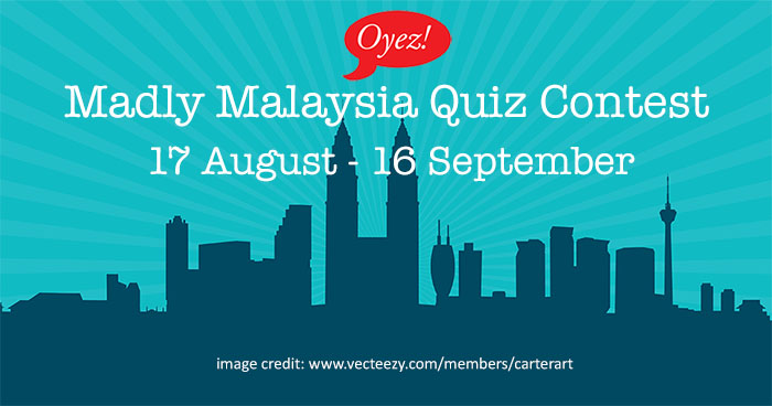Oyez!Books Madly Malaysia quiz contest on Facebook