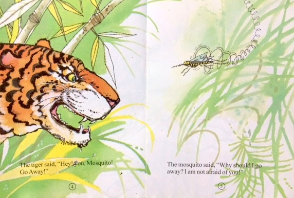 The Tiger and the Mosquito - Around the World in Picture Books March Giveaway from India