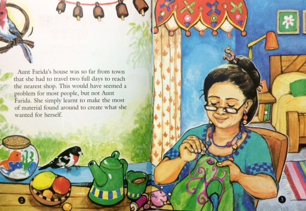 Surprise Gift - Around the World in Picture Books March Giveaway from India