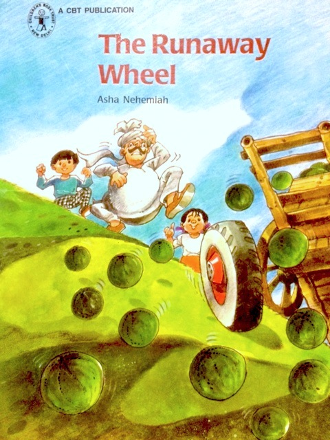 The Runaway Wheel - Around the World in Picture Books March Giveaway from India