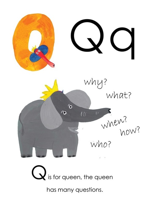Q is for Queen - Yusof Gajah's ABC, an alphabet book illustrated by Yusof Gajah, published by Oyez!Books
