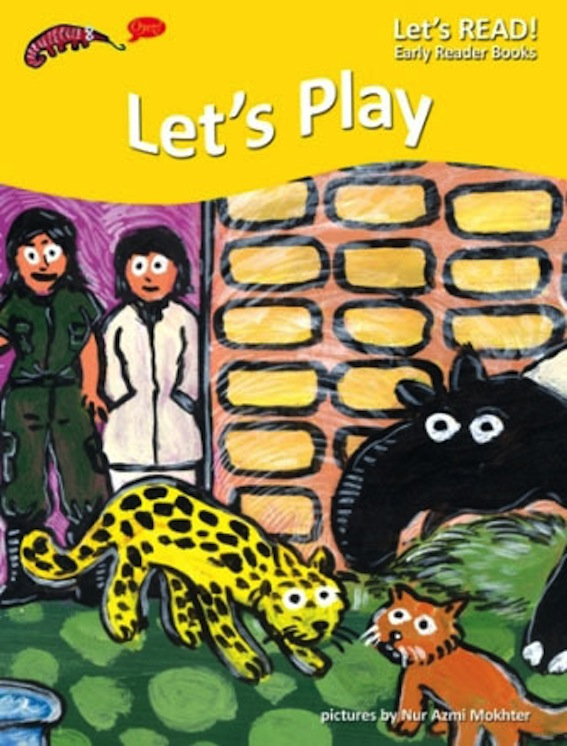 PETER WORTHINGTON, LET'S PLAY, EARLY READER