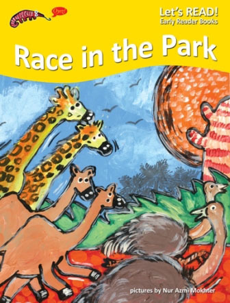 PETER WORTHINGTON, RACE IN THE DARK, EARLY READER