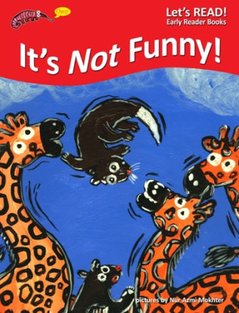 PETER WORTHINGTON, IT'S NOT FUNNY, EARLY READER