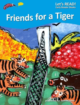 PETER WORTHINGTON, FRIENDS FOR A TIGER, EARLY READER