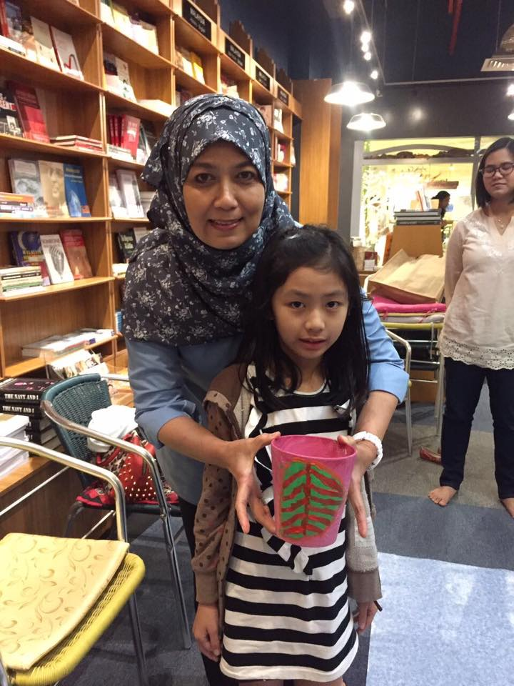 Datin Rossiti Aishah Rashidi, author of several children's books published by Oyez!Books