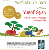 Yusof Gajah picture book workshop Bandung
