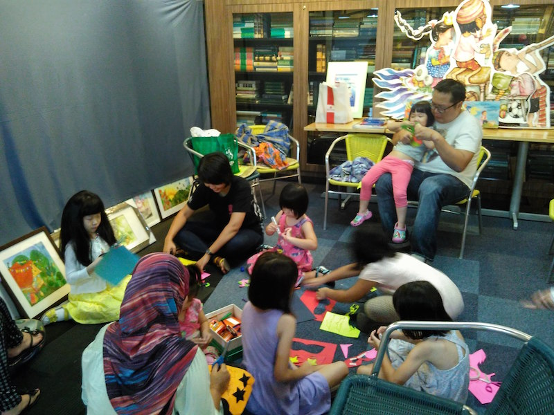 Lim Lay Koon, children's book author and illustrator, Children's Book Week 2015