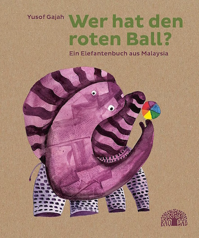Wer hat den roten Ball?, German edition of children's picture book Where is My Red Ball? published by Baobab Books