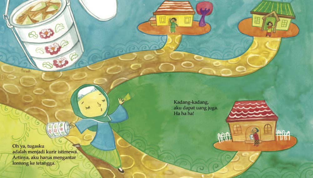 Around the World in Picture Books - January Indonesia Picture Book Giveaway - Chap Goh Meh