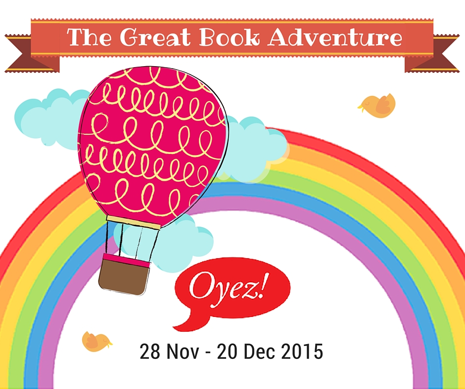 Oyez!Books Year End Programme 2015-The Great Book Adventure