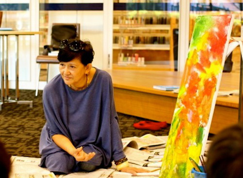 Susanna Goho-Quek, children's book author, artist, curator