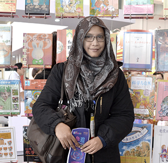 Emila Yusof, children's book author and illustrator
