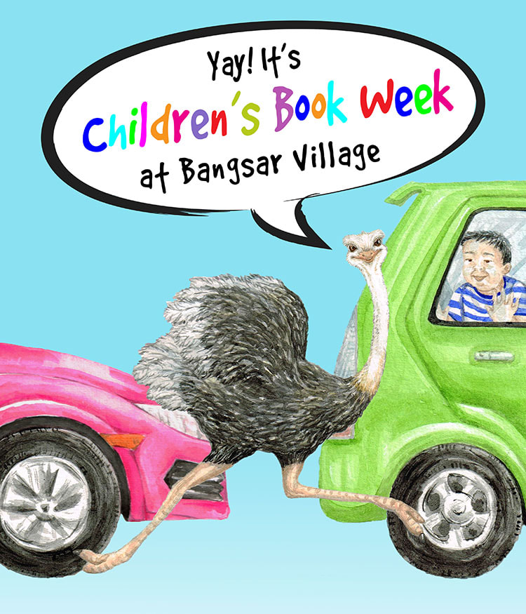 Children's Book Week 25 Nov - 03 Dec 2017 by Oyez!Books, Silverfish Books and Bangsar Village