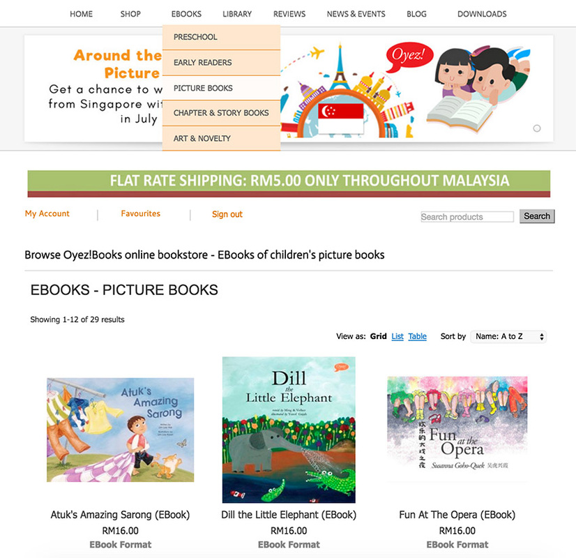 Children's and art ebooks from Oyez!Books
