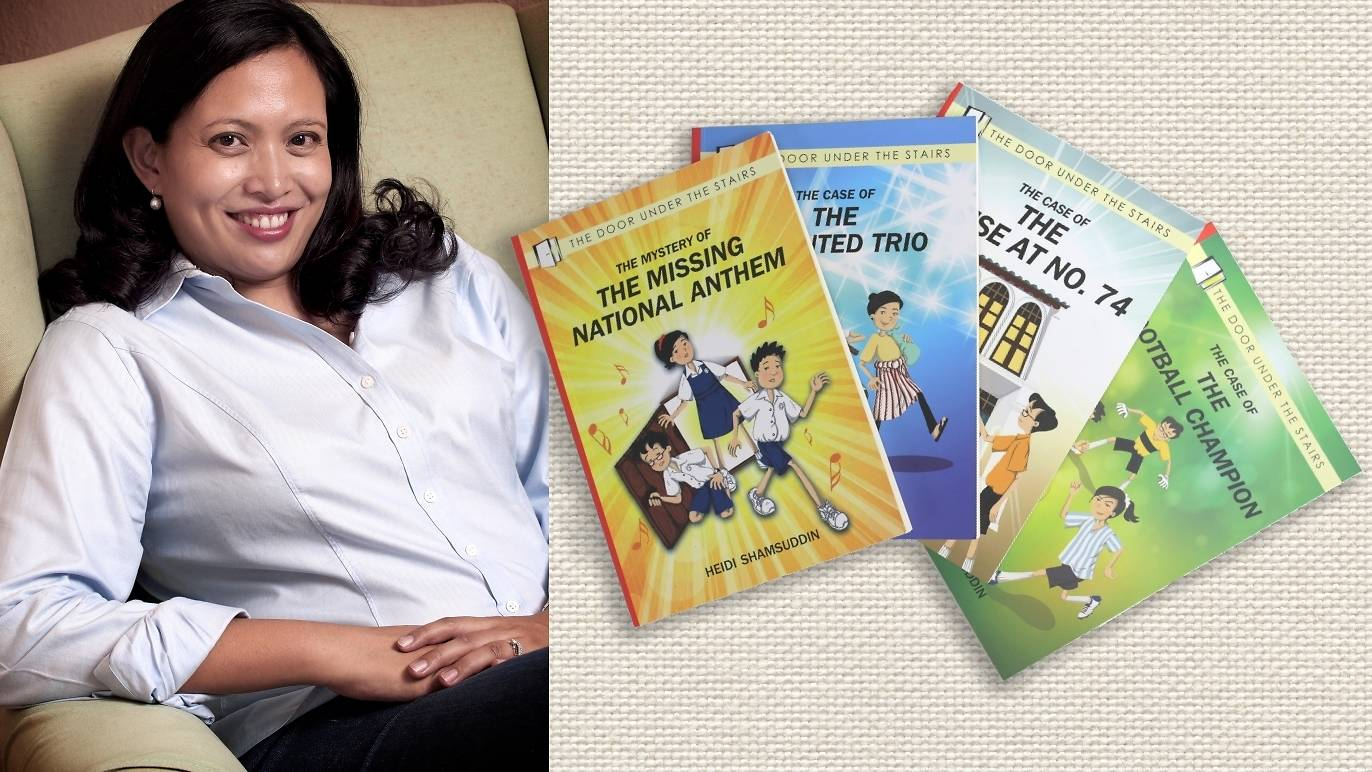 Timeout KL interviews Heidi Shamsuddin, author of The Door Under the Stairs series