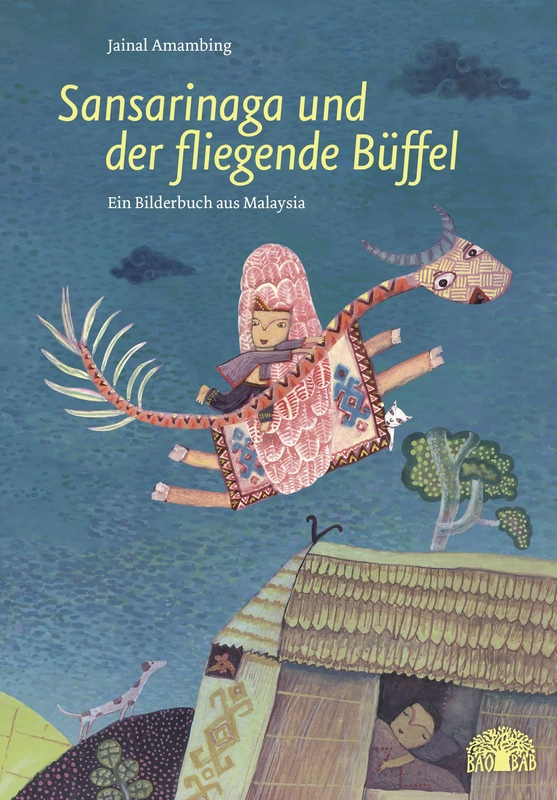 The Magic Buffalo by Jainal Amambing, German edition published by  Baobab Books